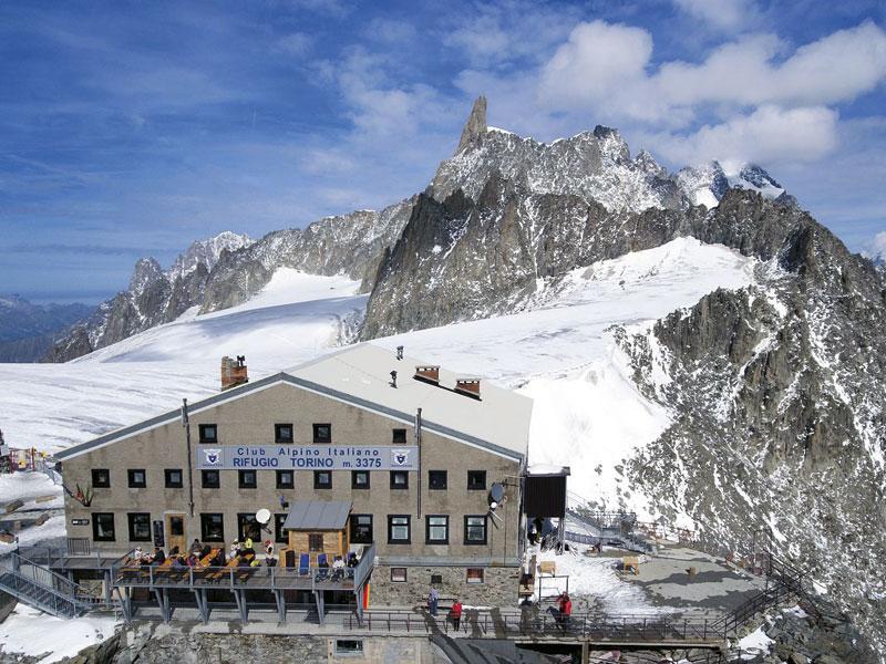 Torino Hut - The hut